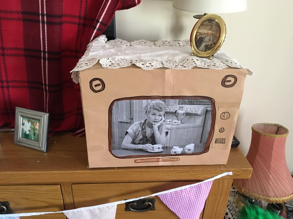 Vintage TV 1950's hen weekend