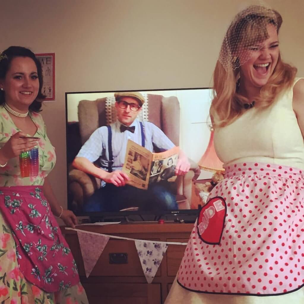 Mr & Mrs Hen Party Game