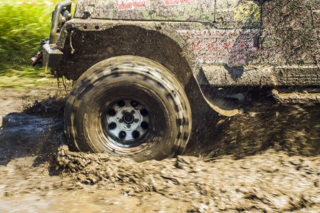 4×4 racing hen party activity
