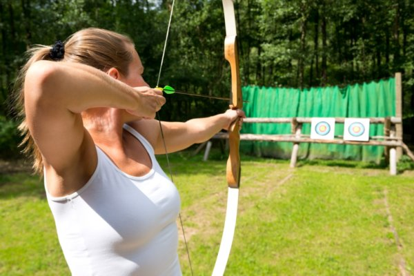 Archery hen party activity