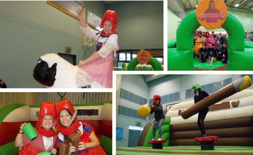 Indoor Wacky Games, Hen Party Activities
