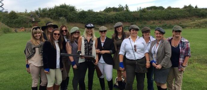 hen party activity Clay Pigeon Shooting
