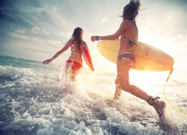 surfing hen weekend packages