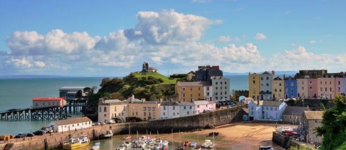 Tenby hen weekend destination, cottages and activities