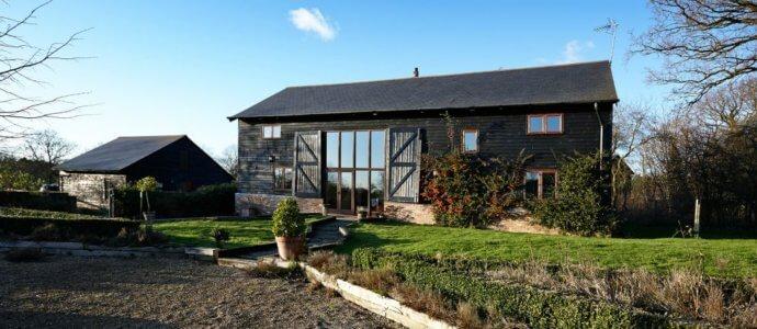 Hertfordshire Barn hen weekend cottage