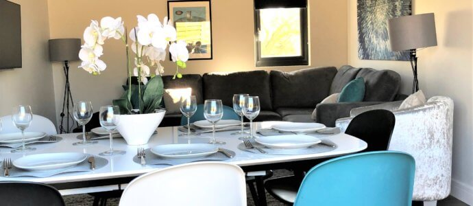 acacia getaway dining room