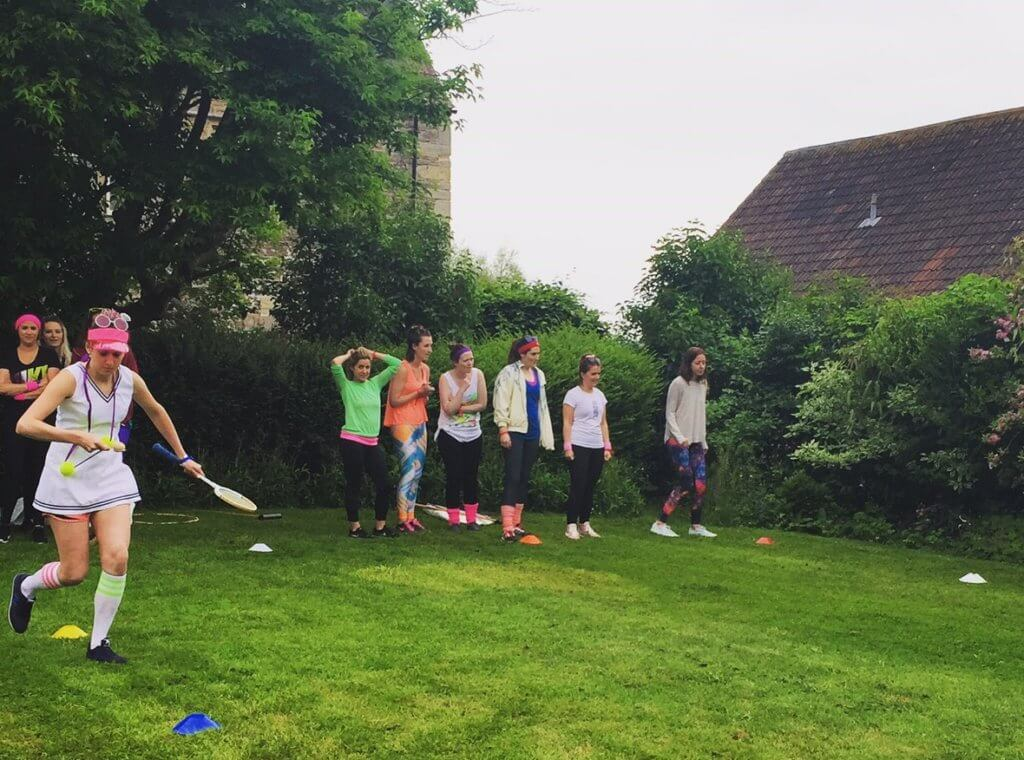 sports day hen party games