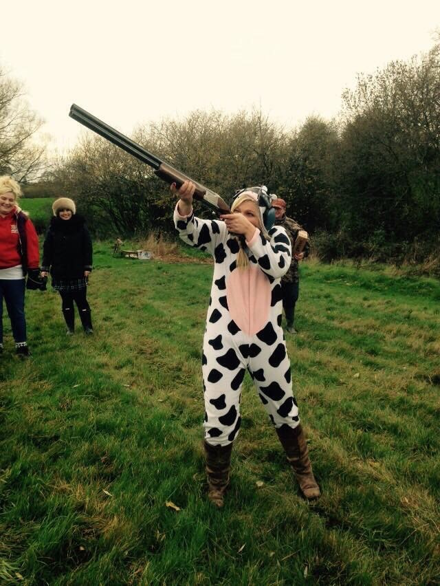 clay pigeon shooting hen party activities