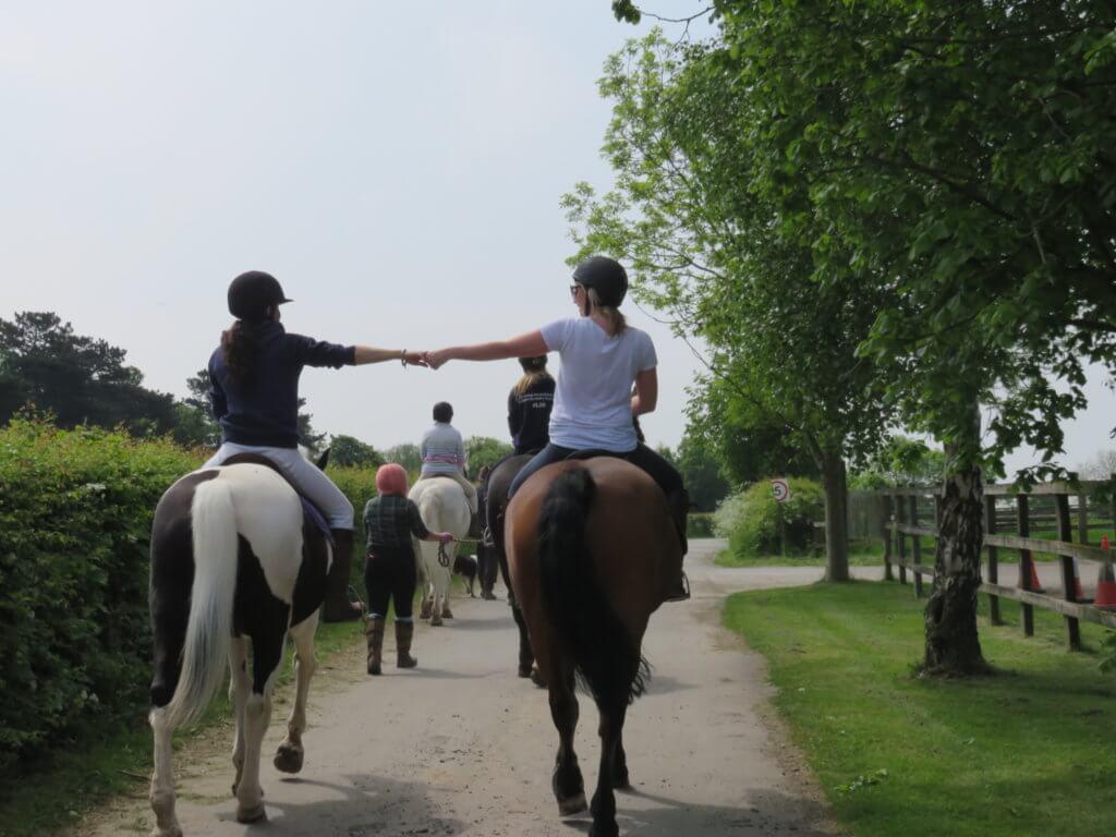 activity horse riding