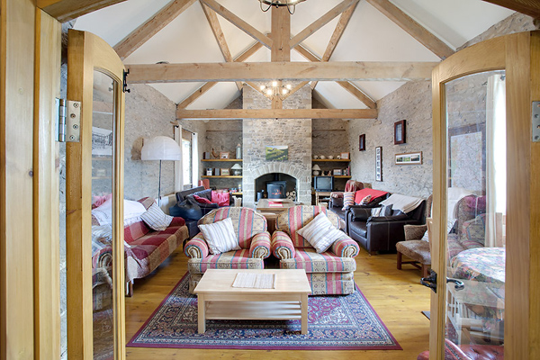 Beautiful Barn Sheffield hen cottage