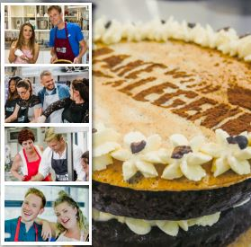 bake with a legend, hen party activity
