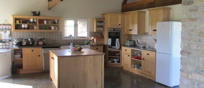 Bath barns kitchen, bath hen party venue