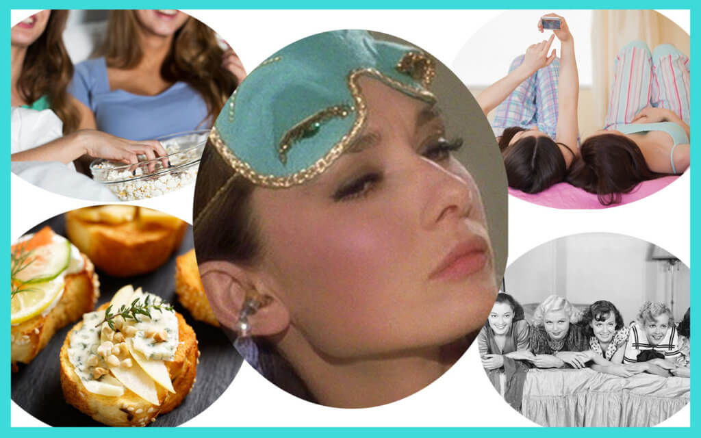 breakfast at tiffanys hen party