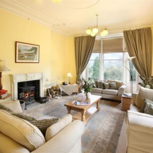 Country House Apartment lounge, hen party house
