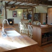 Rural Country House Ludlow kitchen