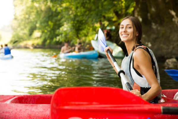canoeing compressed activity