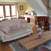 Rural Country House Ludlow sitting room