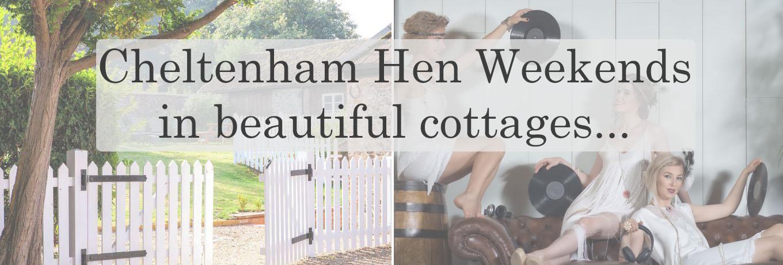 Cheltenham Hen Weekends Acacia Cottages