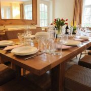 Cotswold Stone House dining