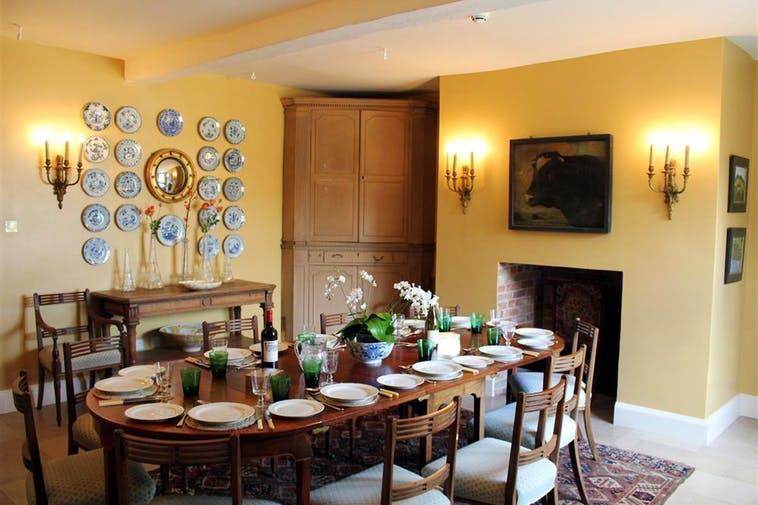 Georgian Wiltshire Farmhouse Dining Room