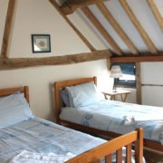New Forest Cottages bed
