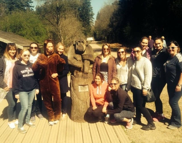 go ape hen party activities