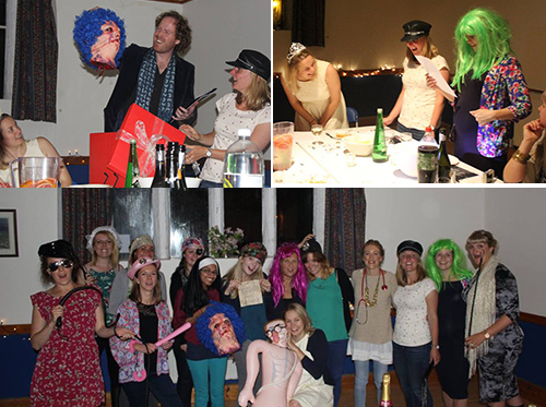 murder mystery hen party activity group