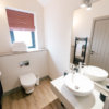 new barn conversion cheshire bathroom