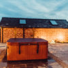 new barn conversion cheshire hot tub