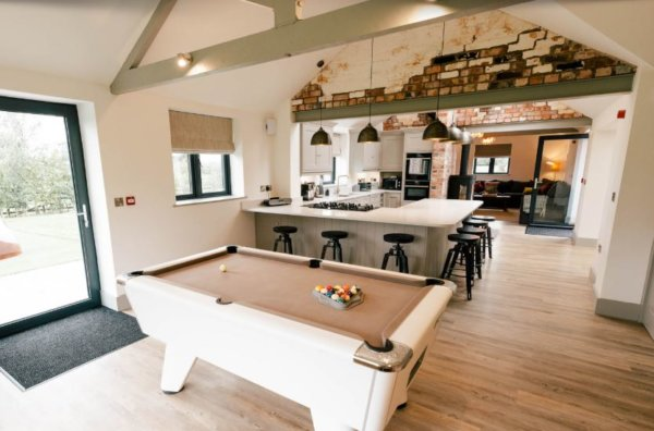 new barn conversion cheshire kitchen 1