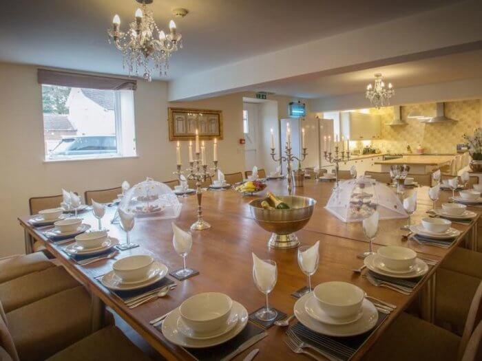 north yorkshire retreat kitchen, hen party house