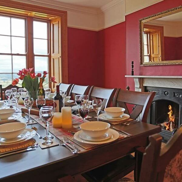 northumberland hen house dining room