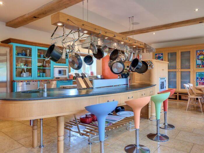 oxfordshire farmhouse YF kitchen, hen party house