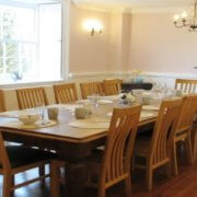 oxfordshire manor farmhouse dining room