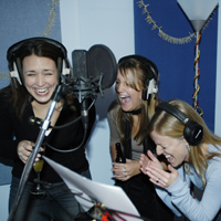 recording studio hen party activity