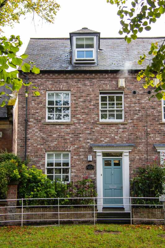 red brick house york
