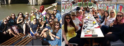 hen party river cruise
