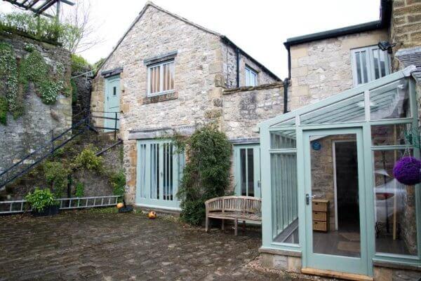 stone cottage garden a, sheffield hen weekend