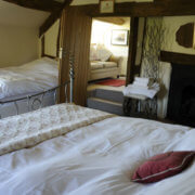 Rural Country House Ludlow bedroom