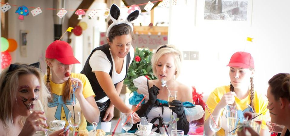 hen party activity afternoon tea party