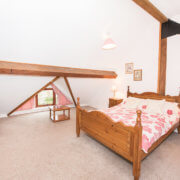 the barn. somerset farm bedroom a