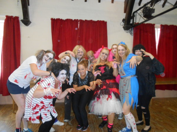 thriller dance hen party activity