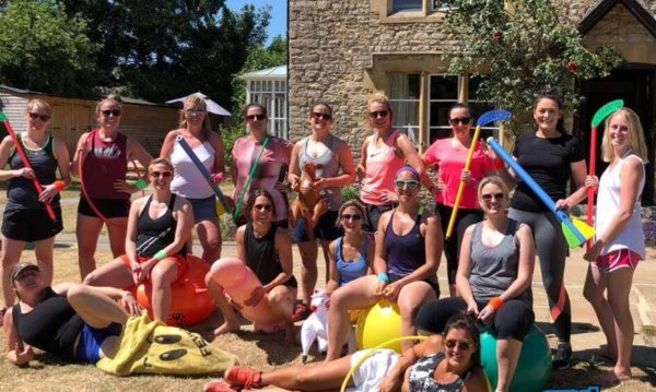 twisted sports day 3, hen party activity