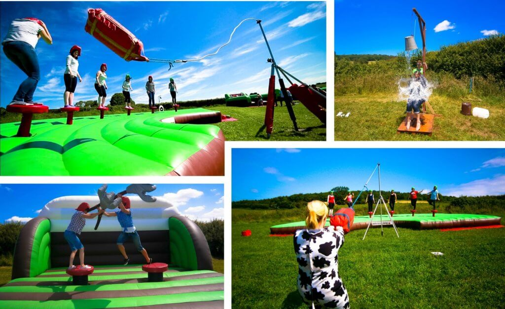 wacky countryside games, hen party activities