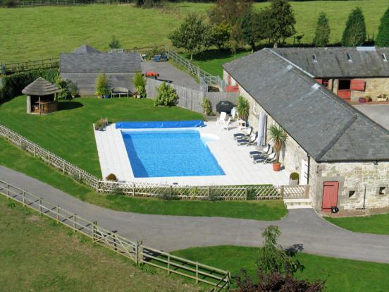 Peak District Houses Hot Tub Pool Acacia Cottages