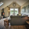 Trio of Barns Yorkshire with hot tub A sitting room