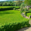 Rural Country House Ludlow garden